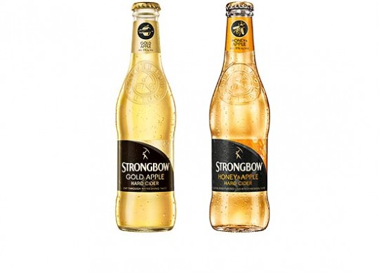 strongbow hard apple cider bottles featured image