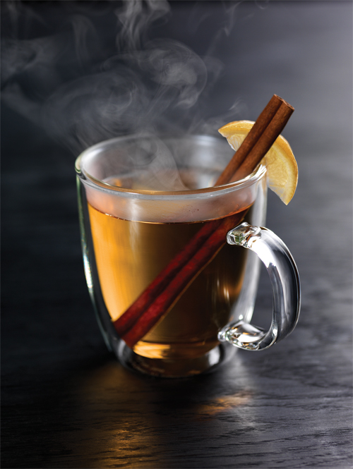 Hot Toddy Drink With Apple Cider