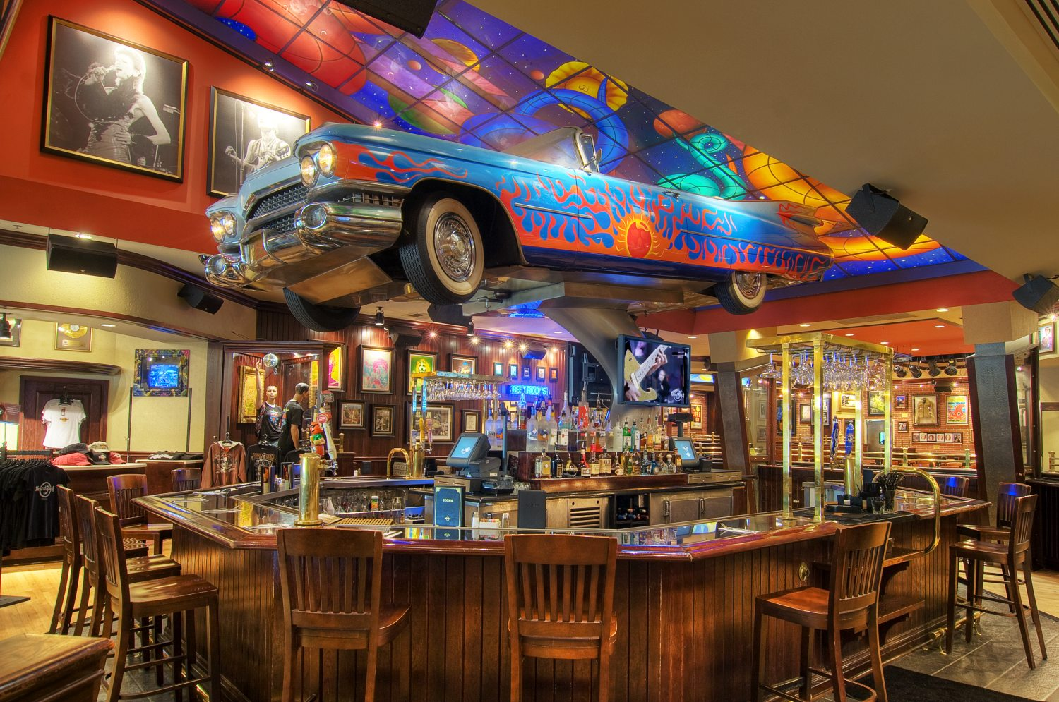 The Hard Rock Cafe in Houston, TX